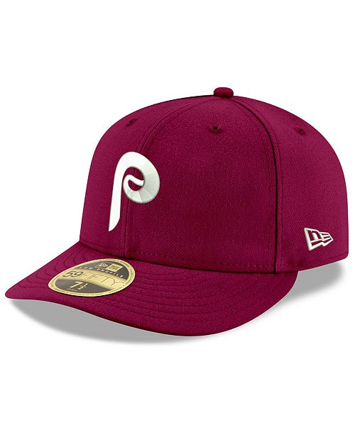 a5fb11ef685 ... New Era Philadelphia Phillies Cooperstown Low Profile 59FIFTY Fitted Cap  ...