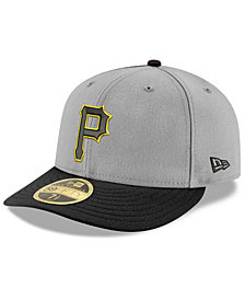 New Era Pittsburgh Pirates Cooperstown Low Profile 59FIFTY Fitted Cap