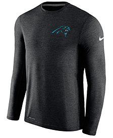 Nike Men's Carolina Panthers Coaches Long Sleeve T-Shirt