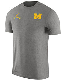 Nike Men's Michigan Wolverines Dri-Fit Touch T-Shirt