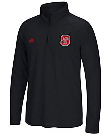 adidas Men's North Carolina State Wolfpack Ultimate Quarter-Zip Pullover