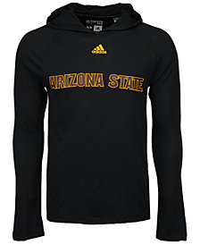 adidas Men's Arizona State Sun Devils Mark My Words Long Sleeve Hooded T-Shirt