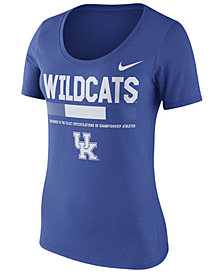 Nike Women's Kentucky Wildcats Sideline Scoop T-Shirt