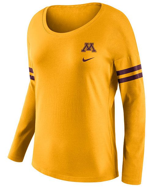 Nike Women s Minnesota Golden Gophers Tailgate T-Shirt  Nike Women s  Minnesota Golden Gophers Tailgate T- ... 2164b0655