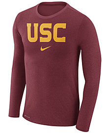 Nike Men's USC Trojans Marled Long Sleeve T-Shirt