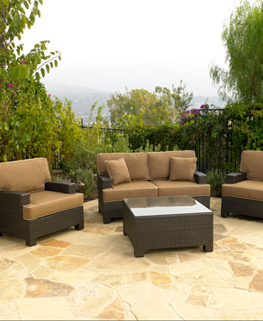 Commacys Outdoor Furniture : Antigua Outdoor Seating Collection - Furniture - Macys
