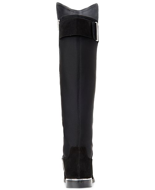 85d7cce48ce Calvin Klein Women s Priya Wide Calf Over-The-Knee Boots   Reviews ...