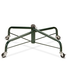 Folding Metal Tree Stand With Rolling Wheels