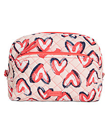 Vera Bradley Iconic Medium Cosmetics Case