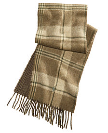 Polo Ralph Lauren Men's Reversible Stable Plaid Scarf