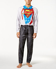 Briefly Stated Men's Superman Costume Jumpsuit