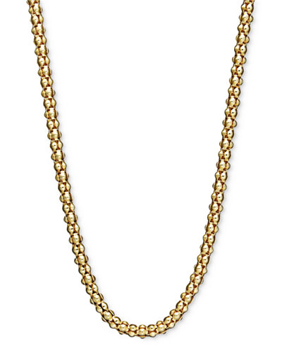 14k Gold Necklace, 30