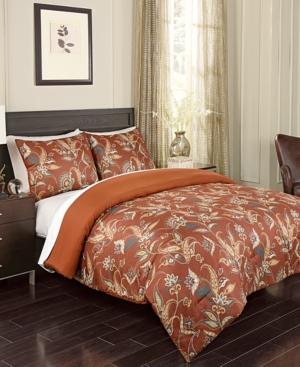 Atlas 3Pc FullQueen Comforter Set Bedding