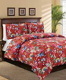 Kaori 3-Pc. Full/Queen Comforter Set