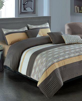 Massimo 7-Pc. Full Comforter Set