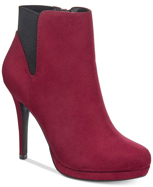 Thalia Sodi Briea Platform Ankle Booties, Created for Macy's