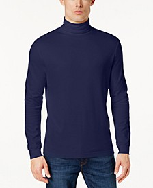 Men's Solid Turtleneck, Created for Macy's