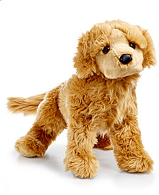 FAO Schwarz Golden Retriever Stuffed Animal