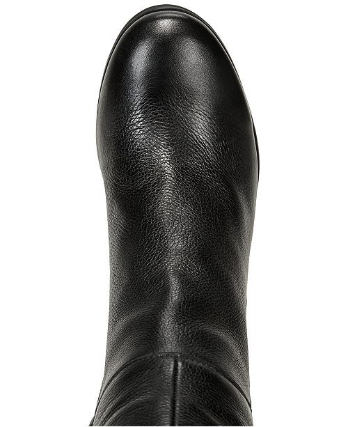 33c03a9816930 Kenneth Cole New York Women's Justin Block-Heel Tall Boots & Reviews ...