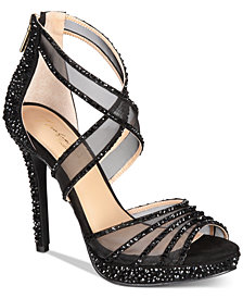 Thalia Sodi Ceara Platform Evening Sandals, Created For Macy's
