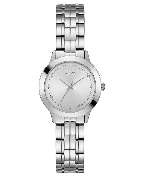 GUESS Women s Stainless Steel Bracelet Watch 30mm - Watches ... 04703bd84