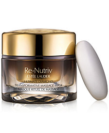 Estée Lauder Re-Nutriv Ultimate Diamond Transformative Massage Mask, 1.7-oz.