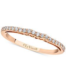 Le Vian® Diamond Band (1/6 ct. t.w.) in 14k Rose Gold