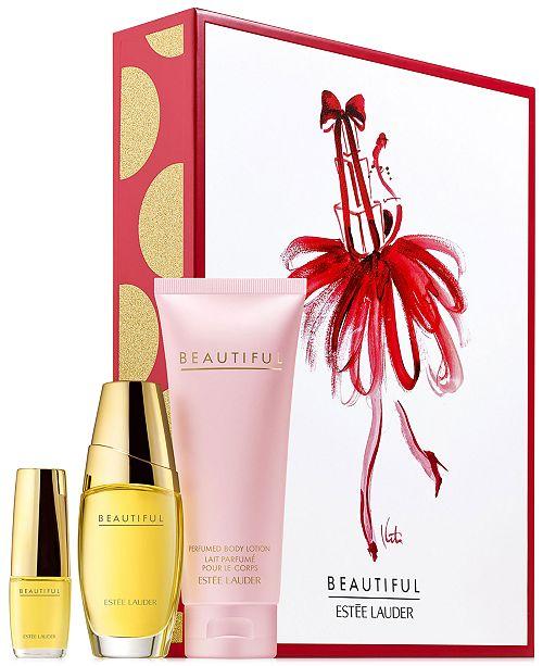 Estee Lauder 3-Pc. Beautiful To Go Gift Set. Macy's / Beauty ...