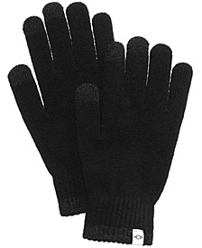 Men's Knit Gloves, Created For Macy's