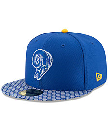 New Era Los Angeles Rams Sideline 59FIFTY Cap
