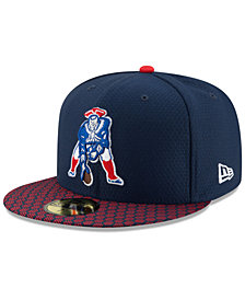 New Era New England Patriots Sideline 59FIFTY Cap