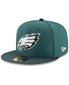 New Era Philadelphia Eagles Sideline 59FIFTY Cap
