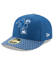 New Era Indianapolis Colts Sideline Low Profile 59FIFTY Fitted Cap