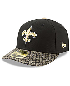 New Era New Orleans Saints Sideline Low Profile 59FIFTY Fitted Cap