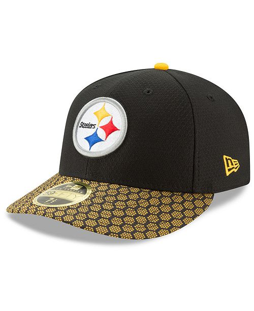 e4934c0d2ba ... New Era Pittsburgh Steelers Sideline Low Profile 59FIFTY Fitted Cap ...