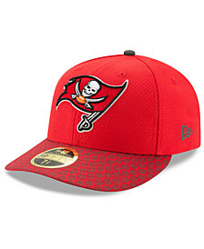 New Era Tampa Bay Buccaneers Sideline Low Profile 59FIFTY Fitted Cap