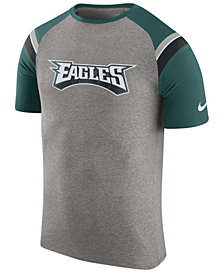 Nike Men's Philadelphia Eagles Enzyme Shoulder Stripe T-Shirt