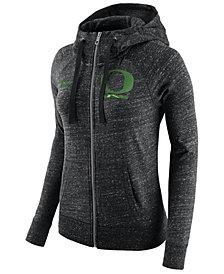 Nike Women's Oregon Ducks Gym Vintage Full-Zip Hoodie