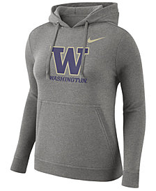 Nike Women's Washington Huskies Club Hooded Sweatshirt