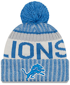 New Era Detroit Lions Sport Knit Hat