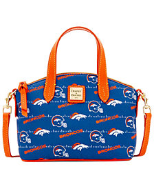 Dooney & Bourke Denver Broncos Nylon Mini Crossbody Satchel