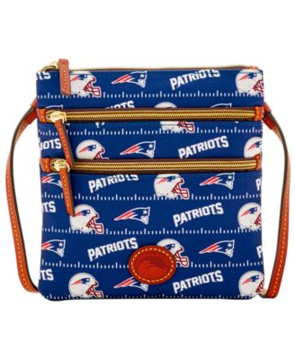 New England Patriots Nylon Triple Zip Crossbody