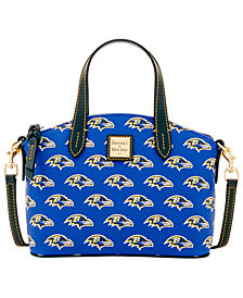 Dooney & Bourke Baltimore Ravens Ruby Mini Satchel Crossbody