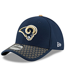 New Era Boys' Los Angeles Rams 2017 Official Sideline 39THIRTY Cap