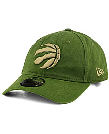 New Era Toronto Raptors All Olive 9TWENTY Dad Cap