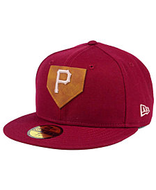 New Era Pittsburgh Pirates The Logo of Leather 59FIFTY Fitted Cap