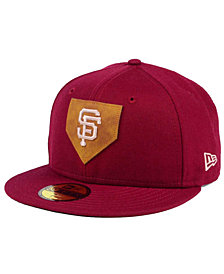 New Era San Francisco Giants The Logo of Leather 59FIFTY Fitted Cap