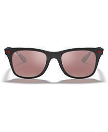 Ray-Ban Polarized Sunglasses, RB4195M SCUDERIA FERRARI COLLECTION