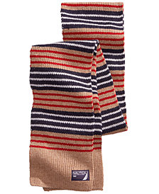Nautica Men's Striped Skinny Scarf