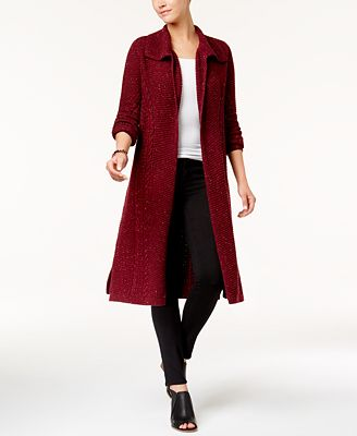 Style & Co Cable-Knit Duster Cardigan, Created for Macy's ...